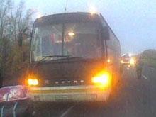 На региональной дороге ограничено движение междугородних автобусов