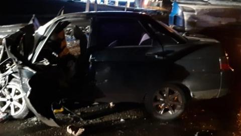 В аварии на трассе погиб пассажир легковушки