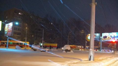 Утром возле НИИ СМ стояли троллейбусы маршрута №10