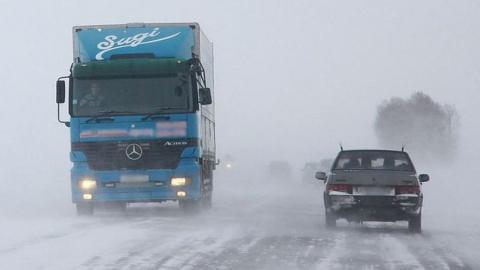 Трасса на Казахстан вновь открыта