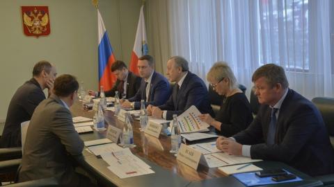 """Глава """"Т Плюс"""" и губернатор обсудили перспективы концессионного соглашения"""