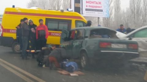 На Усть-Курдюмской - страшная авария