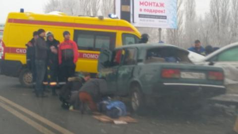 Смертельная авария на Усть-Курдюмской. Видео