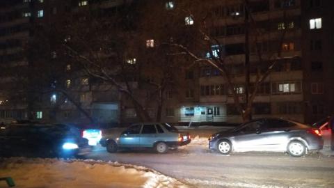 Пять машин столкнулись на Пензенской