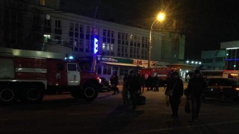 """Сгорел салон """"Мегафона"""" на Привокзальной площади"""