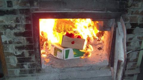 Сотрудники Россельхознадзора уничтожили партию запрещенного сыра