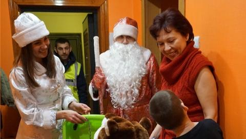 """OOO """"КВС"""" приняло участие в новогодней акции"""