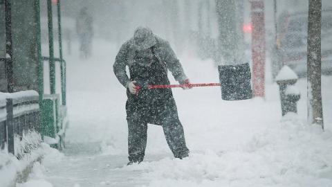 Сегодня в области ожидается снег с метелью