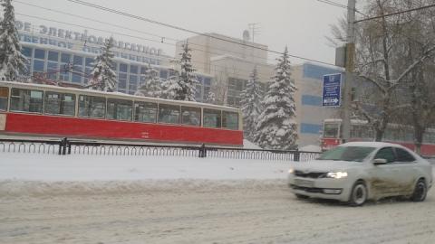 В Саратове остановились почти все трамвайные маршруты