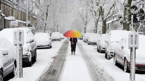 Сегодня в Саратове ожидается небольшой снег