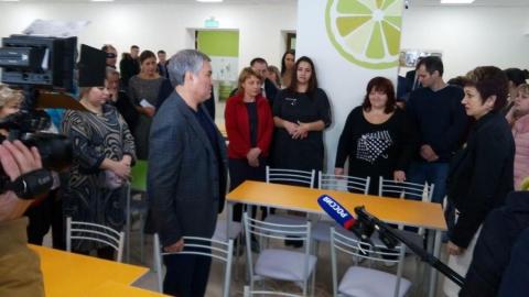 Вячеслав Володин раскритиковал ремонт в гимназии № 89