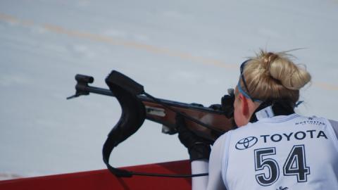 Саратовская биатлонистка выиграла отбор на чемпионат мира