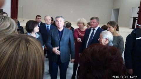 Вячеслав Володин призвал начать занятия в школе в Солнечном-2 в этом учебном году