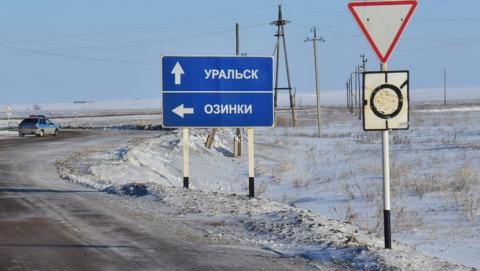 Из-за сильной метели закрыта граница с Казахстаном