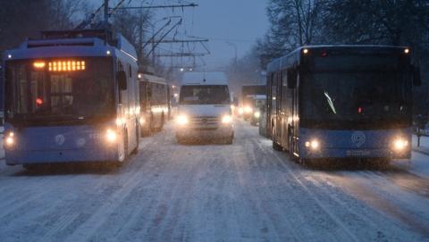 Транспортный коллапс признали в администрации Саратова