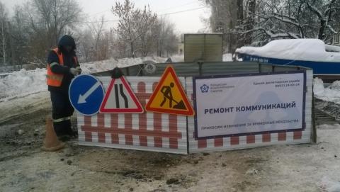 """""""КВС"""" строят коллектор в поселке Жасминный"""