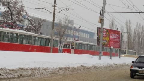 Обесточен трамвайный маршрут № 3
