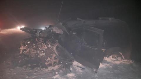 В аварии на трассе погибли два водителя