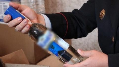 В цветочном магазине нелегально торговали водкой и шампанским
