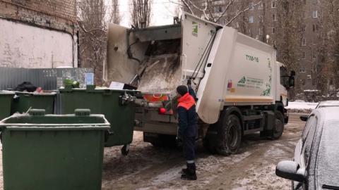 За праздники в Саратовской области вывезли более 6000 тонн мусора