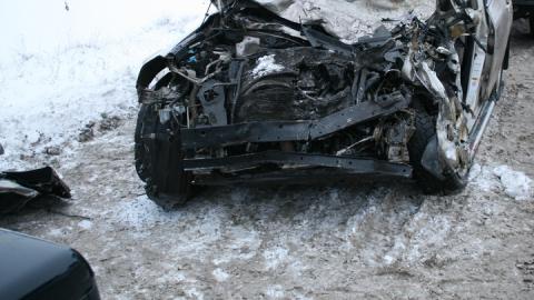 """Четверо молодых людей ранены в столкновении """"Гранты"""" и """"Лифана"""""""
