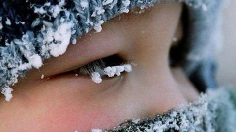 В регионе - туманы, изморозь и морозы