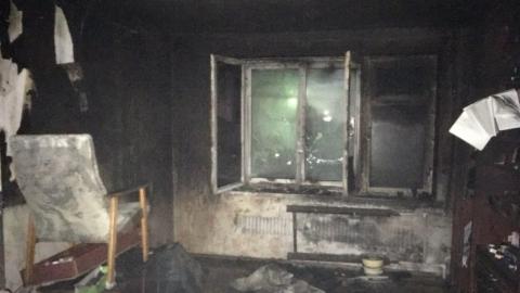 Пьяный мужчина погиб на пожаре