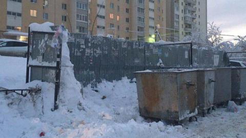 Регоператор: В Саратове из-за снега заблокированы 146 контейнерных площадок