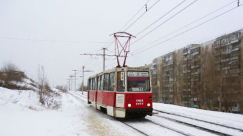 Трамвай №3 сломался на Советской
