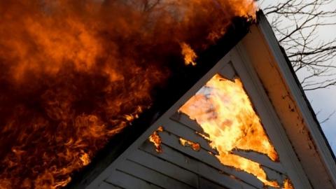Две женщины погибли на пожаре