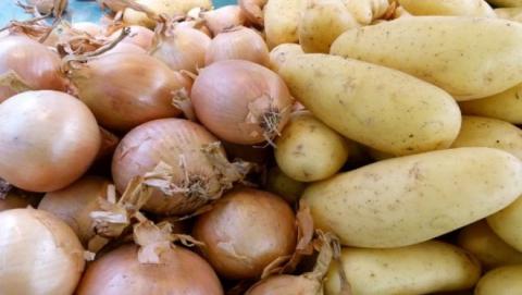 Из Казахстана не пропустили полтонны картофеля и лука
