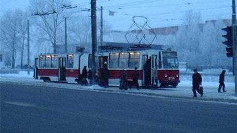 Остановлен трамвайный маршрут