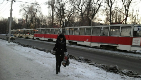 Не ходят трамваи двух маршрутов