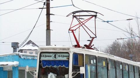 В Поливановке остановились трамваи