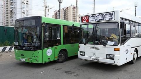 Мэр Саратова за полчаса доехал на автобусе из Юбилейного до работы