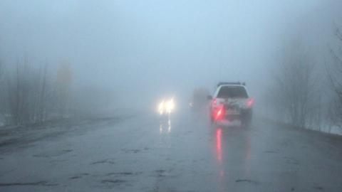 МЧС: число аварий сегодня вырастет из-за тумана и гололеда