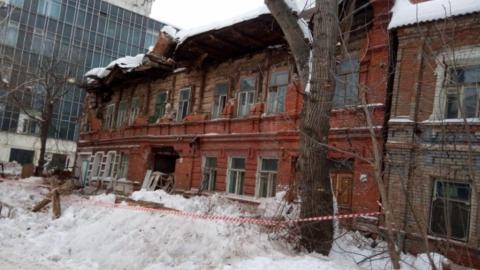 Разрушившийся в Нескучном переулке дом сносу не подлежит