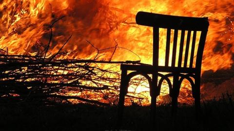В Вольске на пожаре погиб мужчина