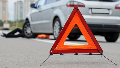 Утром 20-летний водитель сбил пешехода