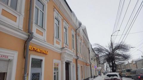 Центр Саратова до сих пор не очищен от сосулек
