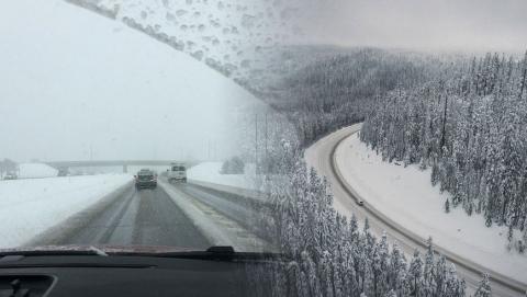 Спасатели рассказали о перекрытии трасс в Саратовской области