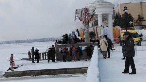 Крещенский лёд вызывает опасения у сотрудников ГУ МЧС