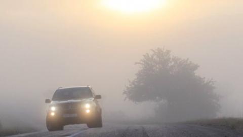 Сегодня вероятны туман, гололедица и изморозь