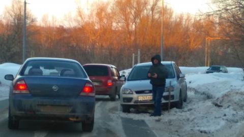 """""""Форд"""" вынесло на встречную обочину дороги между Солнечным и Юбилейным"""