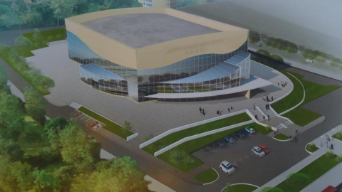 На Дворец водных видов спорта в Саратове решили выделить почти 700 миллионов рублей
