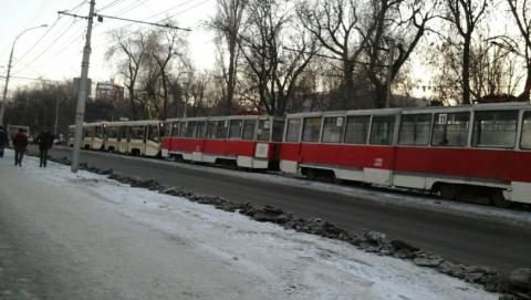 Сегодня в Саратове закрыты все трамвайные маршруты