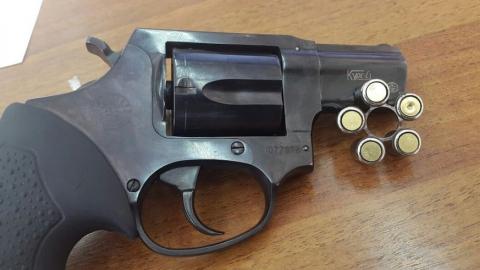 Юного оружейника задержали с самодельным револьвером