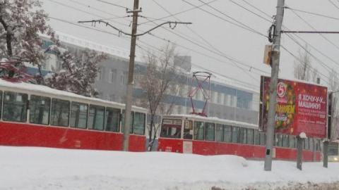 Три трамвайных маршрута открыты в Саратове после четырех дней простоя