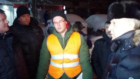 Валерий Радаев пообещал, что сегодня все областные дороги будут расчищены от снега