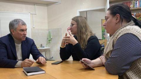 Николай Панков: Володин продолжит поддержку благотворительного центра Доктора Лизы